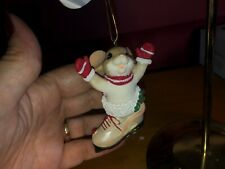"""Charming Tails """"Skating My Way To You"""" Dean Griff Nib 2019 Christmas Ornament"""