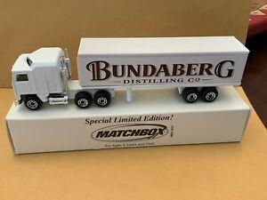"Matchbox Convoy CY-3 Kenworth Box Truck ""Bundaberg"" See Description"