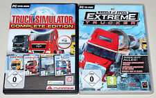 TRUCK SIMULATOR COMPLETE EDITION & EXTREME TRUCKER - EURO GERMAN LKW 18 WHEELS