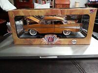 M2 1:24 1957 Chevrolet Bel Air Hardtop S07 Chevrolet 60 Years Walmart