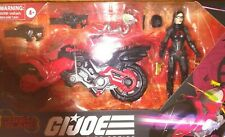 HASBRO GI JOE CLASSIFIED BARONESS COIL CYCLE ISLAND FIGURE LOT EXCLUSIVE