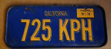 Vintage Yellow Oregon Mini License Plate Bicycle Plate ORE-611 (Information)