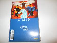X-MEN   CIVIL WAR 127 .MARVEL .PANINI ..2007.  TBE