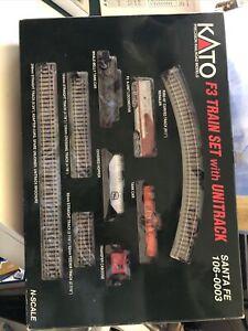 Kato Santa Fe F3 Train Set With Unitrack 106-0003 New Open Box