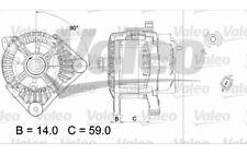 VALEO Alternador para RENAULT MEGANE CLIO SCENIC NISSAN ALMERA MICRA 437434