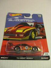 Hot WheelsPremium Silhouettes '76 Chevy Monza Htf