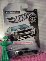 CHEVY CAMARO CONCEPT #2 Walmart ZAMAC 50TH ANNIVERSARY✰blue✰2018 Hot Wheels
