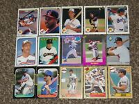 15 Card Rookie Lot Randy Johnson Will Clark Juan Gonzalez 1989 RC 1980s-1990s