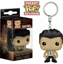 Funko Pocket Pop Keychain Supernatural Castiel Action Figure New in Box NIB