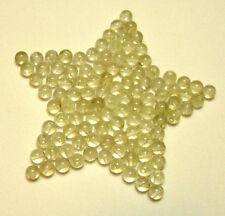 Libyan Desert Glass BEADS Carving DRILLED Carved Sphere Meteorite Gemstone 1BEAD