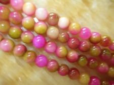 "New natural 8mm kunzite gemstones round loose beads 15""##MJ115"