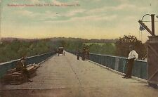 Washington and Berkeley Bridge in Williamsport Md Postcard