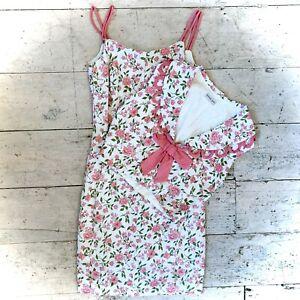 Vintage 1950's Designer Dress And Waistcoat Set Size 6/8
