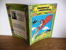 E.O.Album série verte de R Macherot Chlorophylle Lombard 1978 les conspirateurs