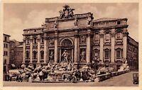 Cartolina - Postcard - Roma - Fontana di Trevi - 1938