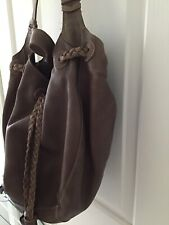 Genuine Leather Chocolate Coloured Shoullder Bag From Fossil - Ex Cond