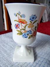 Aynsley Fine Bone China, Cottage Garden Pedestal Vase / Urn 12cm (4 3/4 inches)