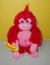First & Main Orrie The Love Monkey Red & Pink I Love You Bunches Bean Plush