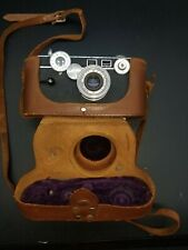 Vintage Argus C3 35mm Camera with f/3.5 50mm Cintar Lens with Case