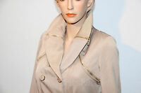 Trench/Veste/Jacket Femme/Woman Taille 36-38-40-42 beige sable NEUF