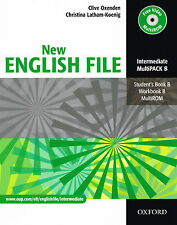 Oxford NEW ENGLISH FILE Intermediate MultiPACK B (Files 4-7) @NEW@ 9780194518321