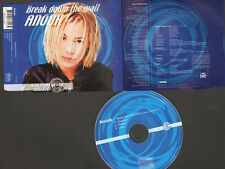ANOUK Break Down The Wall 4 track CD Single ENHANCED VIDEO PROMO 2 Meter Sessies