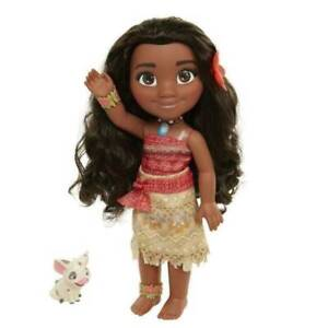 "Jakks Disney Moana Adventure Doll & Pua 14"" / 35cm Tall Kids Girl Toy"