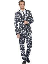 Skeleton Suit, XL, Halloween Fancy Dress, Mens