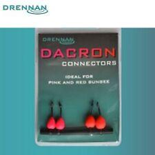 Dragon connectors Drennan rose et rouge par 4