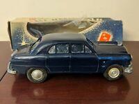 1950 Ford Custom 4 Door Promo Promotional AMT Model Rare w original box blue