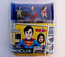 Heroclix Super Heroes Dc-Tabapp Pack-Batman/Superman/Wonder Woman