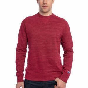 Champion Men's French Terry Crew Neck Sweatshirt
