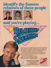 John Byner Relatively Speaking 1988 Ad- Cyndi Lauper's mother