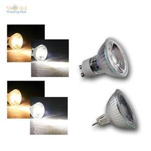 LED Glass Illuminant MR16/GU10, 3W/5W Cob High Power Leds, Bulb Spotlight