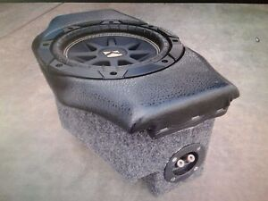 "Custom 8"" speaker box - subwoofer enclosure for BMW Z3 (speaker not included)"