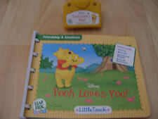 Leap Frog Baby Little Touch Leap DISNEY POOH LOVES YOU  Book & Cartridge