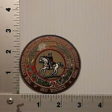 1990's THE CONFEDERATE STATES OF AMERICA VINTAGE EMBROIDERED PATCH