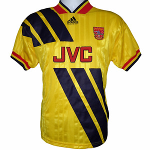 1993-1994 Arsenal Away Football Shirt Adidas Small (Excellent Condition)