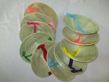 Lot of 10 small 'NON LA'  Palm-leaf conical hat for Children - Handmade Vietnam