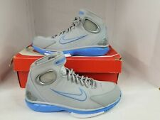 Air Zoom Huarache 2k4 Sz 8 Grey and Blue (Money Back Guarantee)