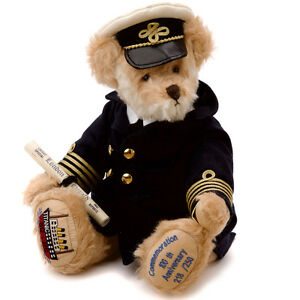 Titanic Teddy Bear limited edition by Hermann Spielwaren - 19114-6