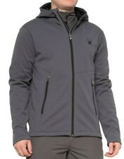 SPYDER POLAR FLEECE HOODY  JACKET NWT MENS MEDIUM   $149