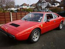 FERRARI DINO 308GT 1973- 1981  CLEAR WINDSCREEN / BLUE TOP BAND ***BRAND NEW