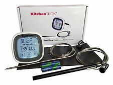 BBQ internal electronic instant read probe meat thermometer for oven charcoal...