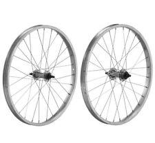 """Coppia ruote Citybike MTB Alluminio 24"""" Filetto 1v con perno"""