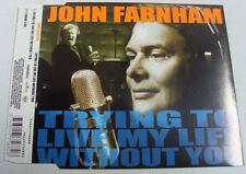 "JOHN FARNHAM ""TryingToLiveMyLifeWithoutYou"" 2000 2Trk CDSingle ""ThankYou"""