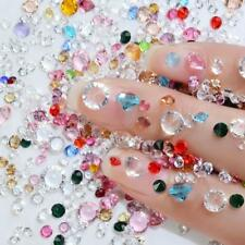 10g Mixed 3D Crystal AB Rhinestones Glass Stones Nail Art Manicure Accessories
