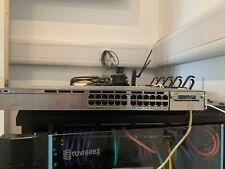 Cisco 3750X-24P-S Gigabit PoE+ Switch with C3KX-PWR-715WAC