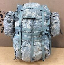 DAMAGED ARMY MOLLE II RUCKSAC PACK ASSEMBLED ACU DIGITAL -DRMO- MISSING PARTS