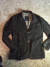 Indigo Palms Womens sz Large L Brown Jacket Blazer Tommy Bahama